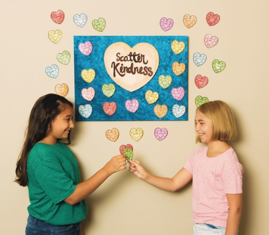 scatter kindness craft kit