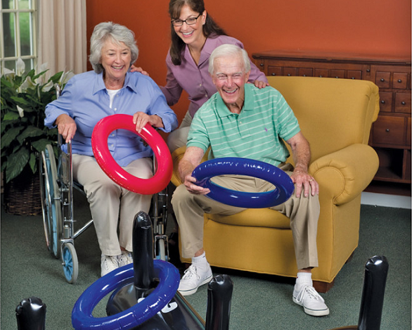 3 Seated Game Ideas to Keep Residents Active - S&S Blog