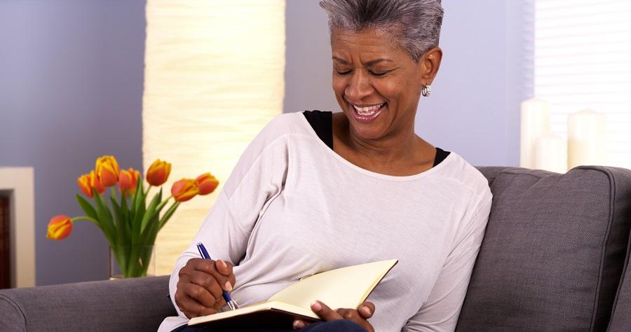 Senior living writing activities