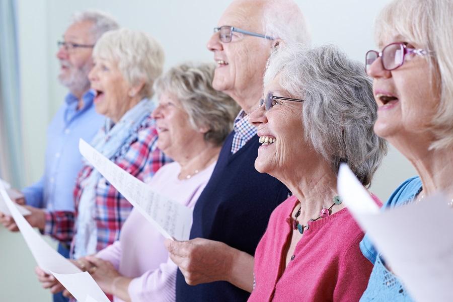 senior spiritual sunday activites