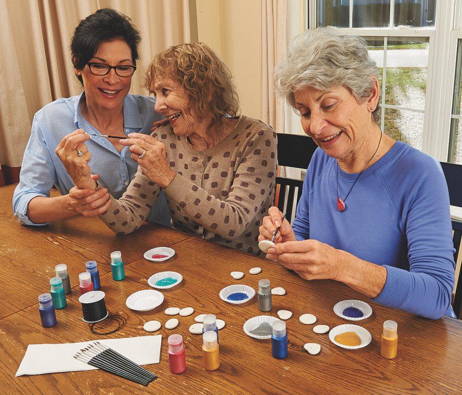 seniors craft ideas