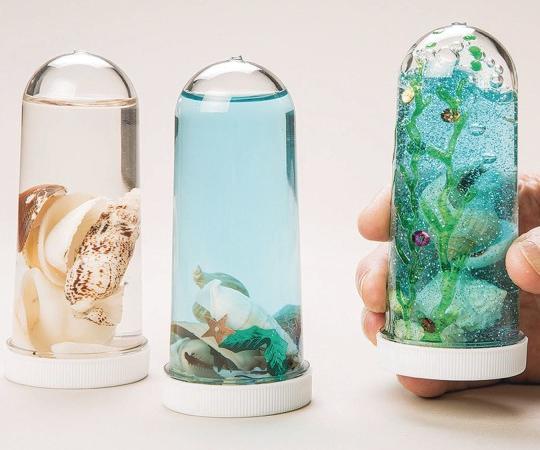 sensory bottles DIY