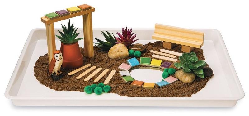 sensory tray starter kit