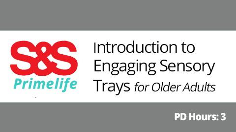 sensory trays for seniors