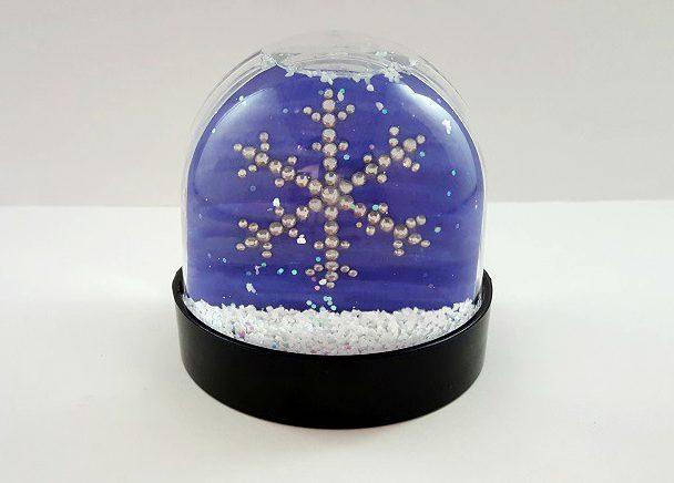 snow globe snowflake
