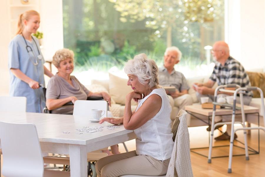 social distance senior activities