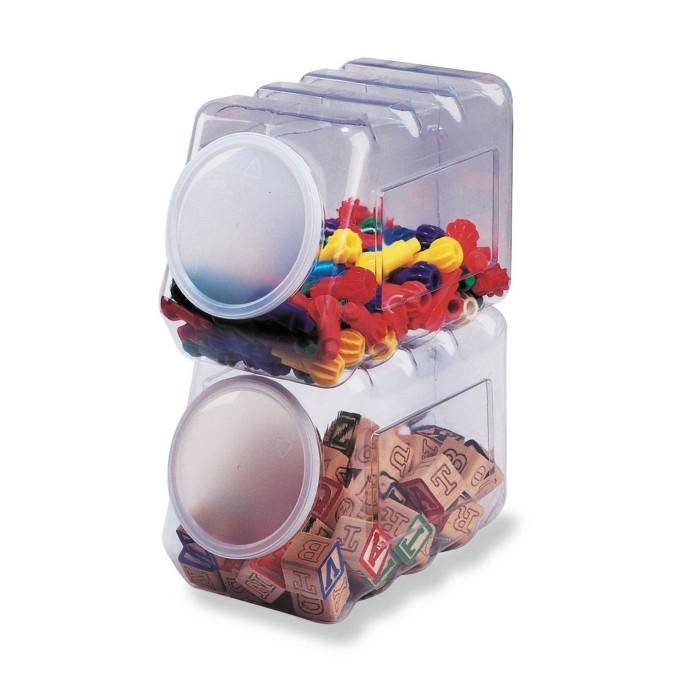organized classroom bins