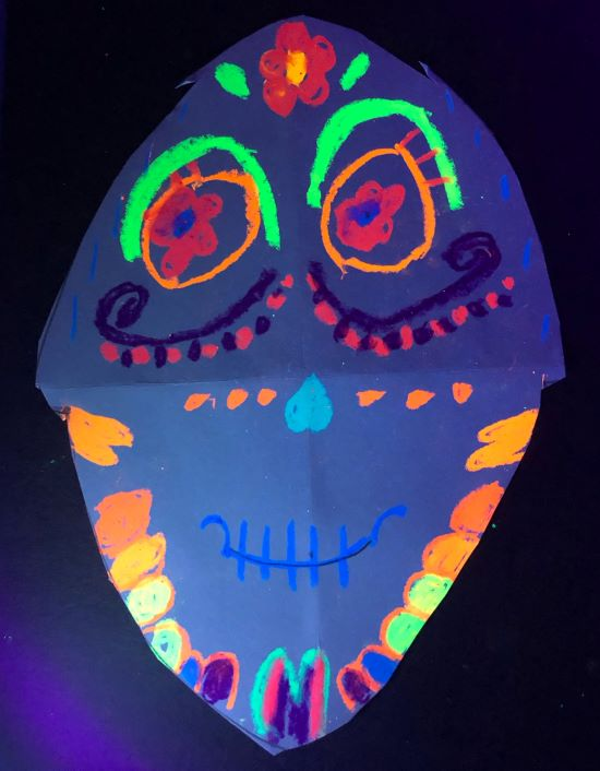 Sugar Skulls Glow