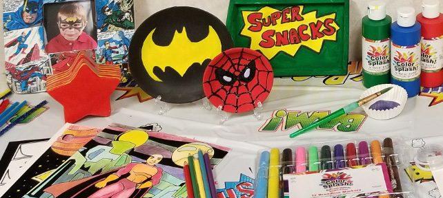 super hero crafts diy ideas