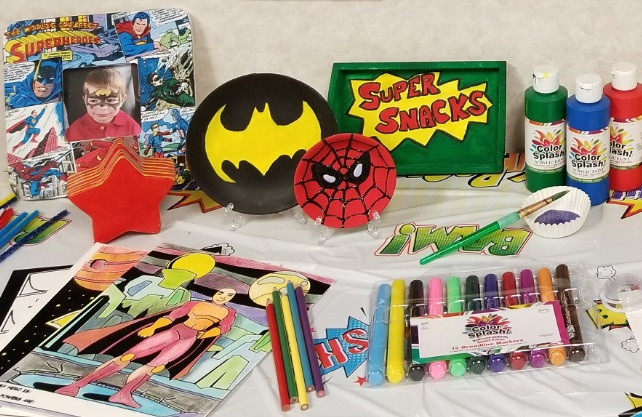 super hero crafts diy ideas