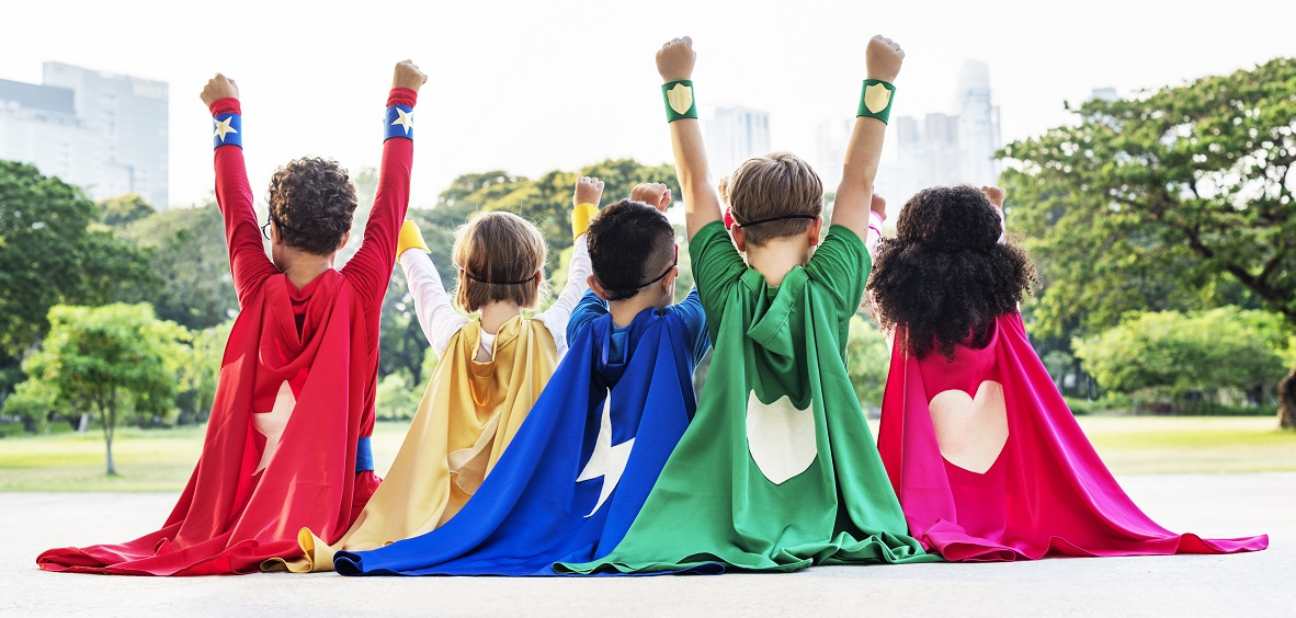 superhero theme bullying prevention