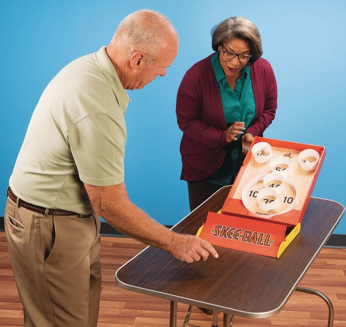 tabletop games senior residents