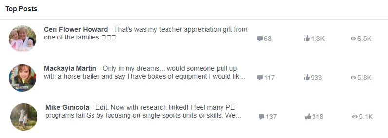 pe central fb page popular post