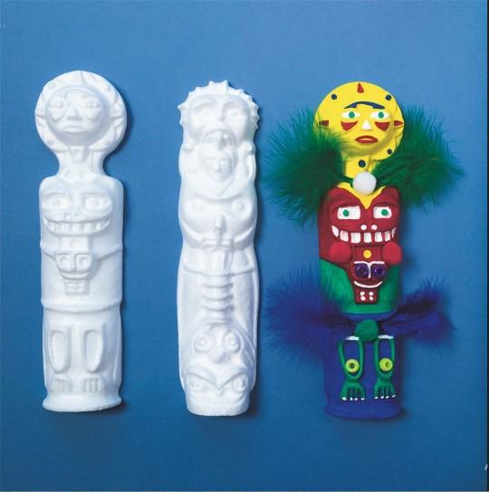 totem pole craft native americans