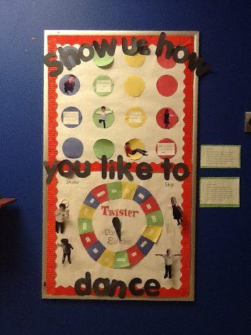 twister dance board PE