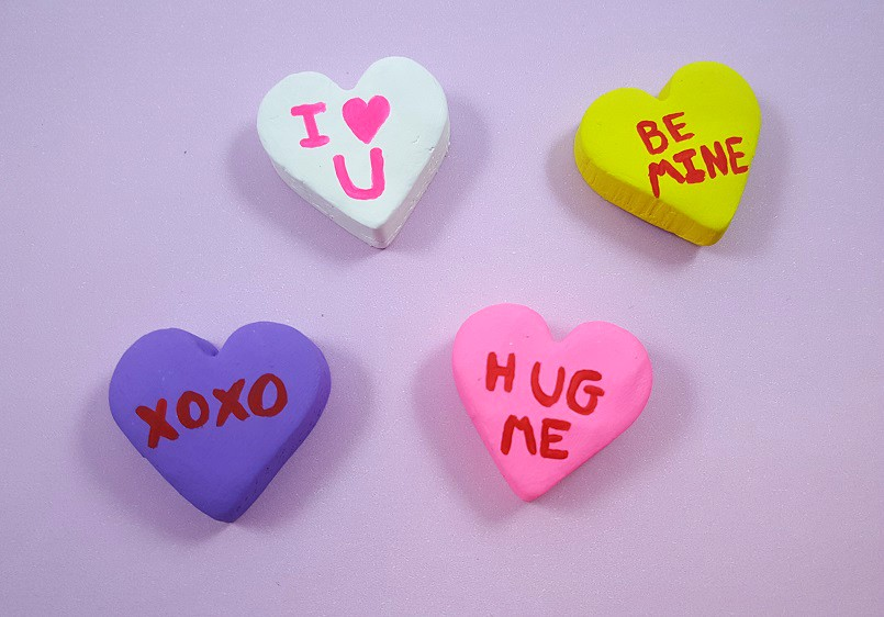 valentines day candy heart crafts