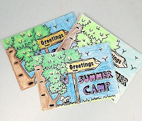 Velvet Art Postcards