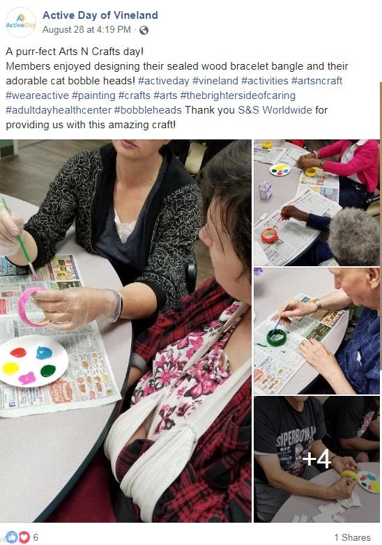 senior arts and crafts