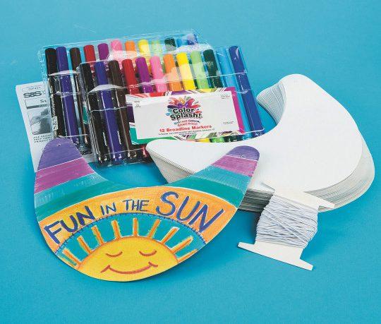 visors craft kit