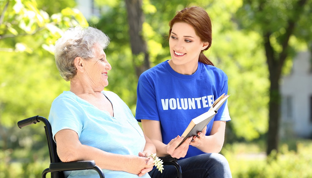 volunteer month seniors