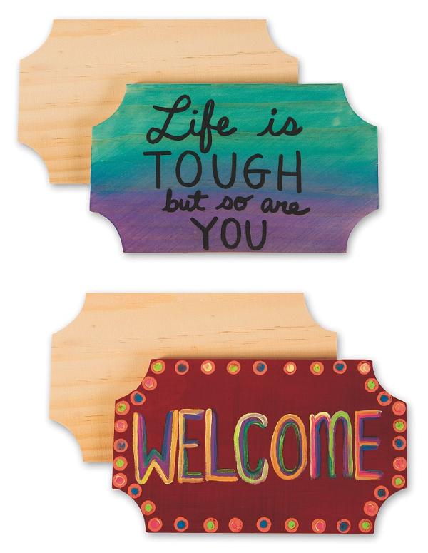 wood plaque craft