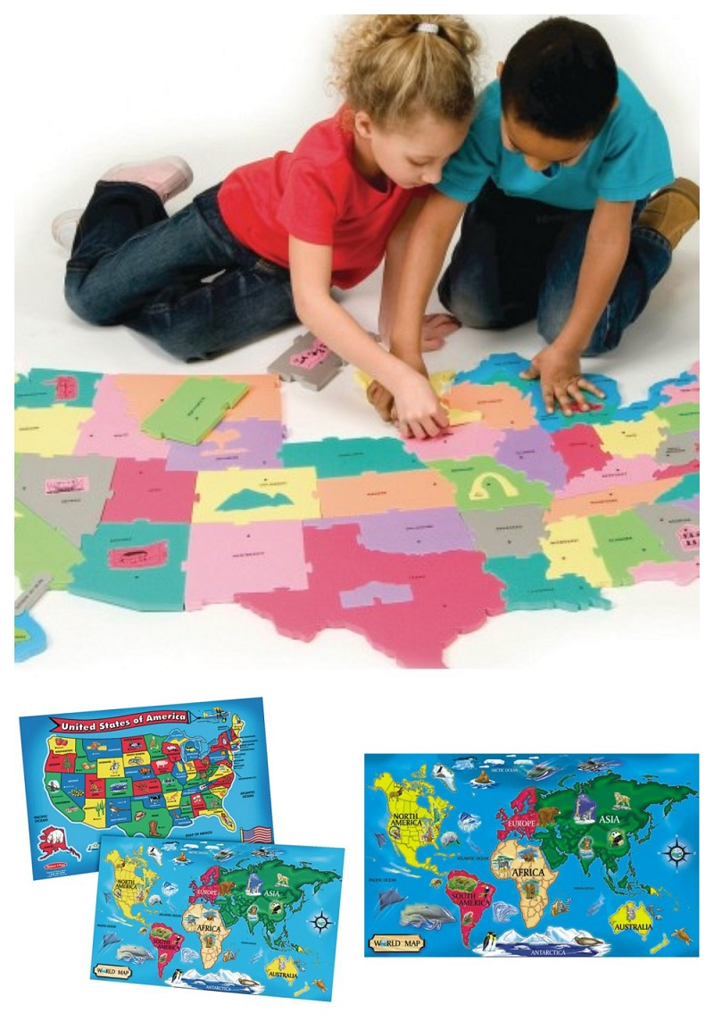 world map puzzles