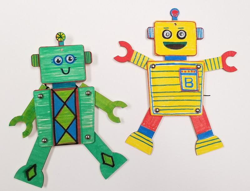youth program robot activity