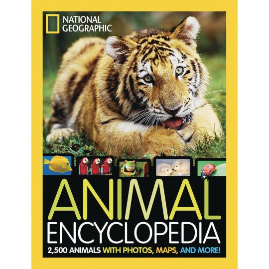 zoo animal book
